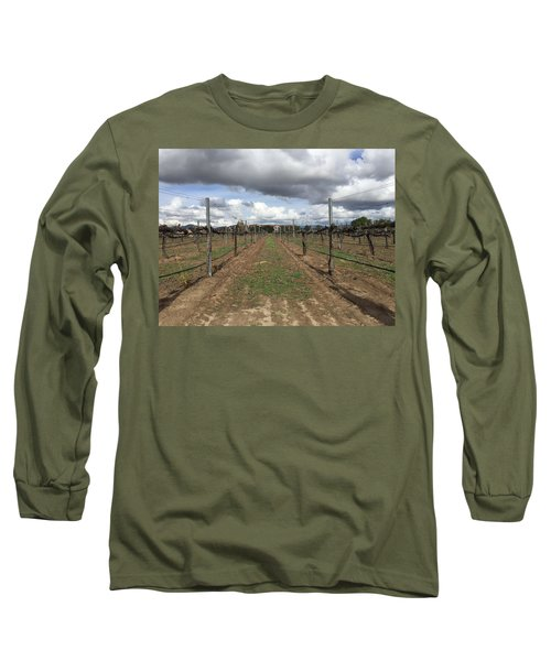 Grapevine Long Sleeve T-Shirt by Russell Keating