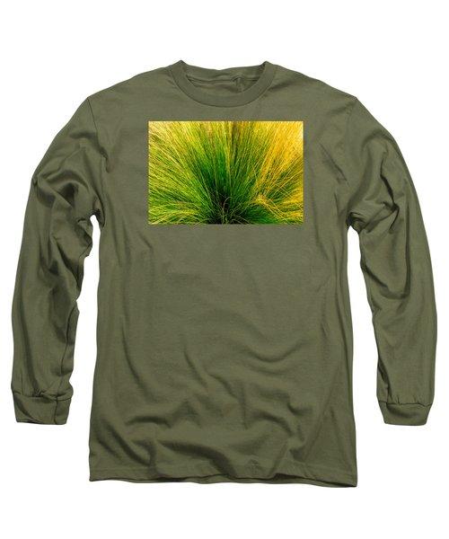 Grass Long Sleeve T-Shirt by Derek Dean