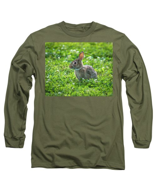 Long Sleeve T-Shirt featuring the photograph Grass Hoppers by Bill Pevlor
