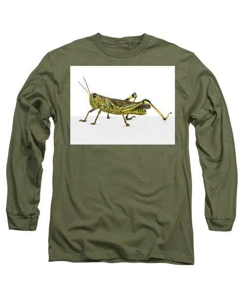 Grasshopper Long Sleeve T-Shirt by James Larkin