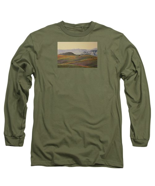 Grasslands Badlands Panel 2 Long Sleeve T-Shirt
