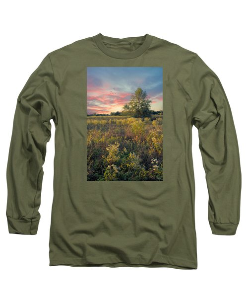 Grateful For The Day Long Sleeve T-Shirt by John Rivera