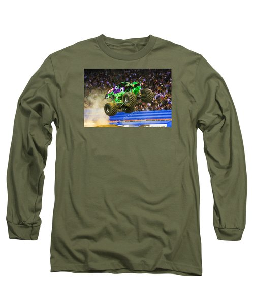 Grave Digger 7 Long Sleeve T-Shirt by Lanjee Chee