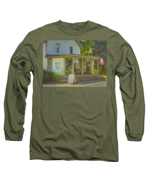 Gray's Store In Little Compton Rhode Island Long Sleeve T-Shirt