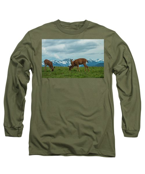 Grazing In The Clouds Long Sleeve T-Shirt