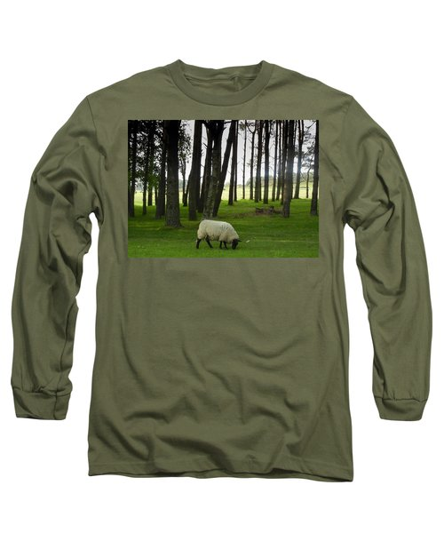 Grazing In The Woods Long Sleeve T-Shirt