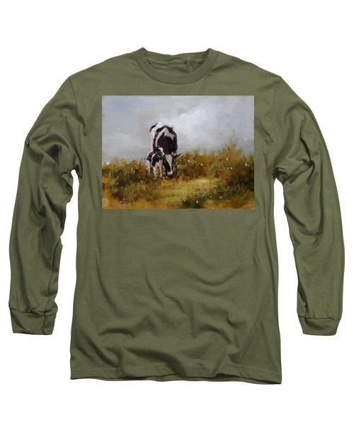 Grazing With Mom Long Sleeve T-Shirt
