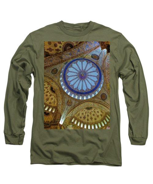 Great Blue Dome Long Sleeve T-Shirt