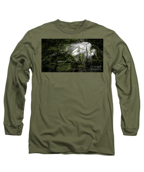 Great Egret #2 Long Sleeve T-Shirt
