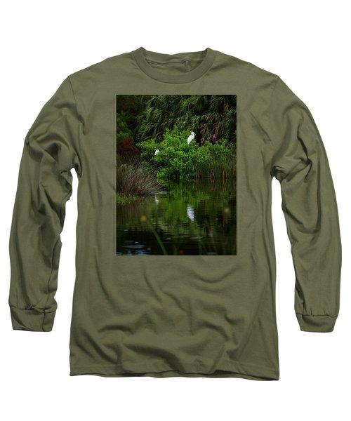 Great Egret Long Sleeve T-Shirt