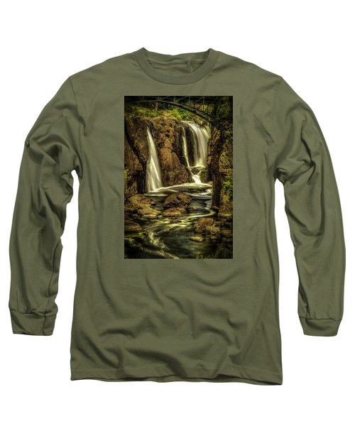 Great Falls Close Up Long Sleeve T-Shirt