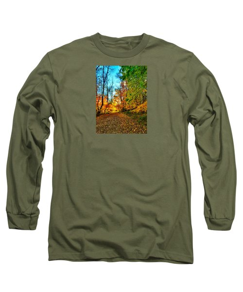 Long Sleeve T-Shirt featuring the photograph Great Finale by Zafer Gurel