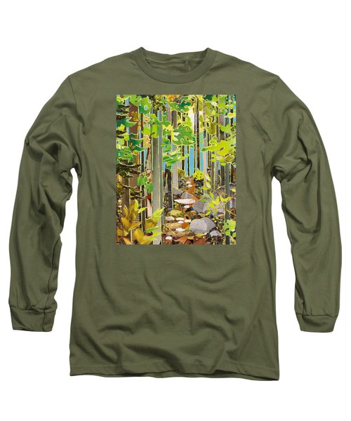 Great Maine Woods Long Sleeve T-Shirt