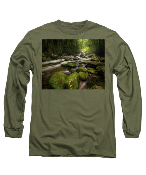 Great Smoky Mountains Roaring Fork Long Sleeve T-Shirt