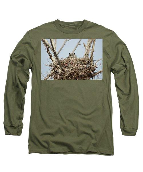 Greathornedowl3 Long Sleeve T-Shirt