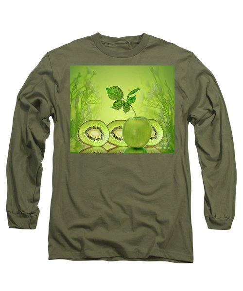 Greeeeeen Long Sleeve T-Shirt