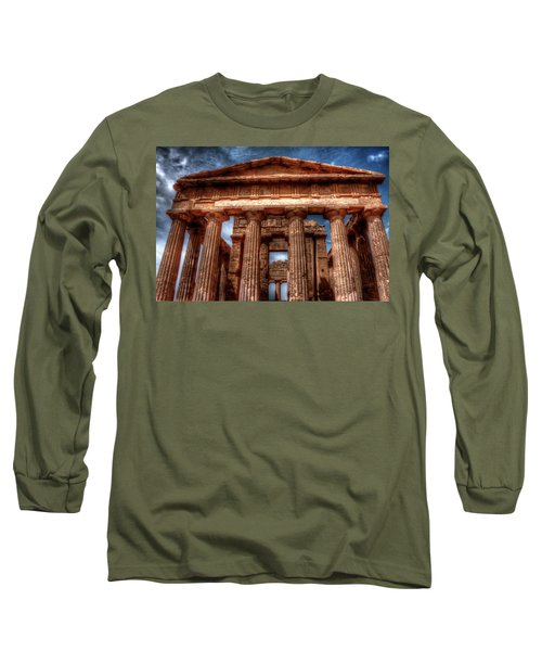 Temple Of Concord  Long Sleeve T-Shirt by Patrick Boening