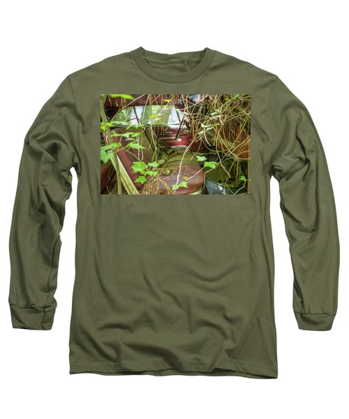 Green And Red Long Sleeve T-Shirt