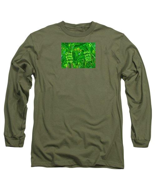 Green Bananas Long Sleeve T-Shirt