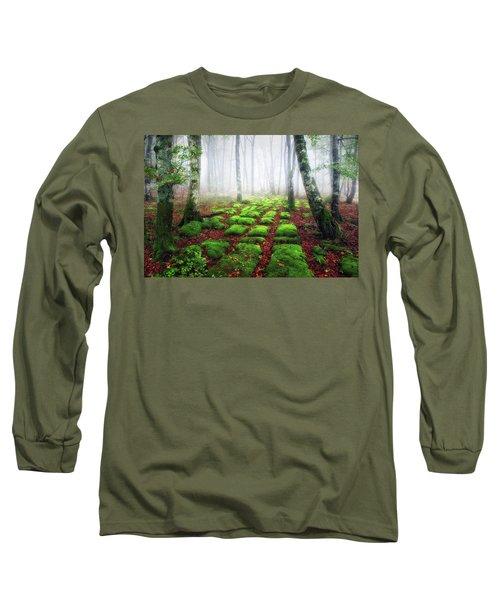 Green Brick Road Long Sleeve T-Shirt
