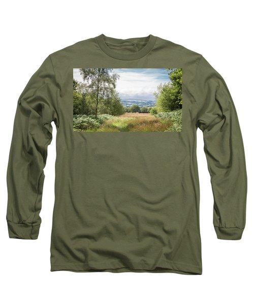 Green Corridor Long Sleeve T-Shirt