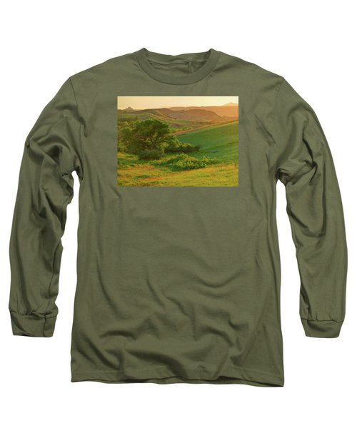 Green Dakota Dream Long Sleeve T-Shirt
