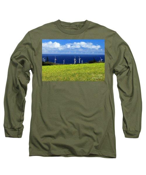 Green Energy Long Sleeve T-Shirt