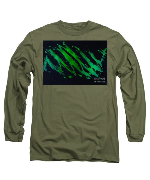 Green Escape Long Sleeve T-Shirt