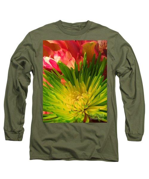 Green Focus Long Sleeve T-Shirt
