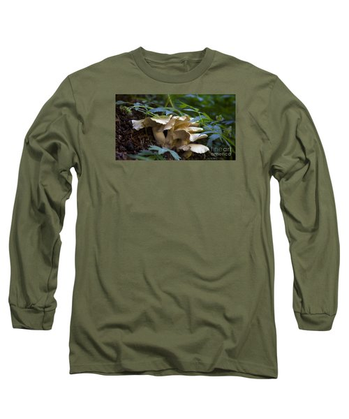 Green Forest Floor Long Sleeve T-Shirt