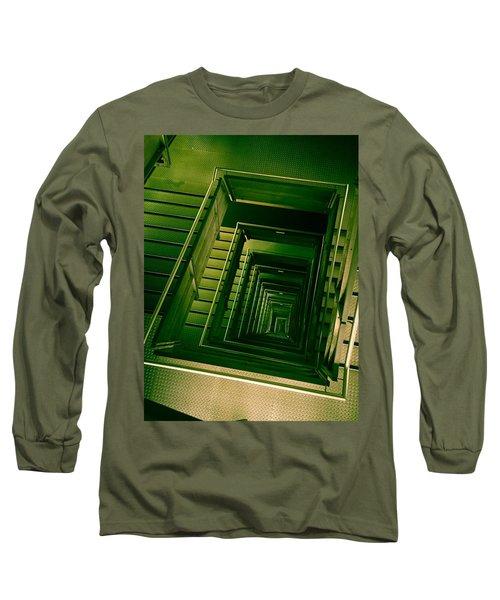Green Infinity Long Sleeve T-Shirt