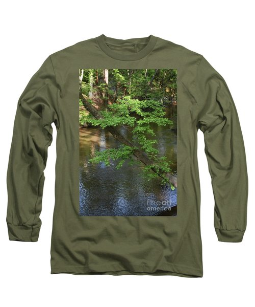 Long Sleeve T-Shirt featuring the photograph Green Is For Spring by Skip Willits