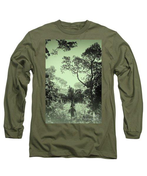 Green Jungle Long Sleeve T-Shirt