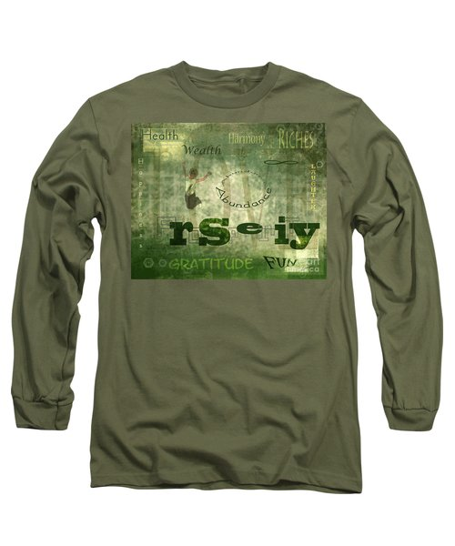 Green Knowings Long Sleeve T-Shirt