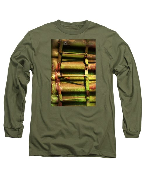 Green Ladder Long Sleeve T-Shirt