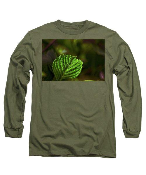 Green Leaf Long Sleeve T-Shirt