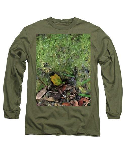 Green Man Spirit Photo Long Sleeve T-Shirt