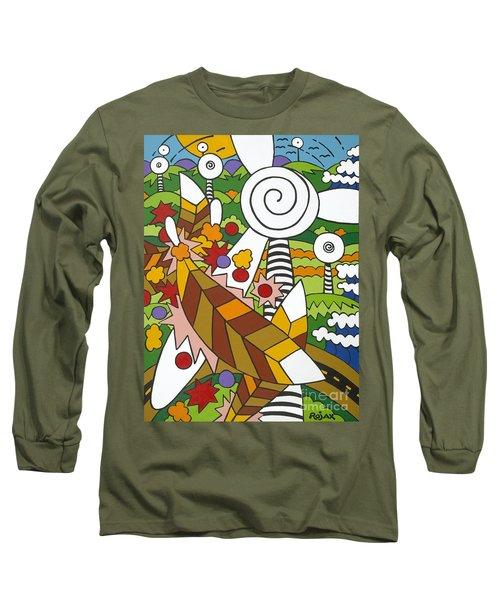 Green Power Long Sleeve T-Shirt