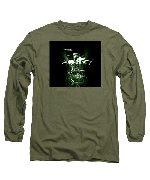 Green Long Sleeve T-Shirt by Rajiv Chopra