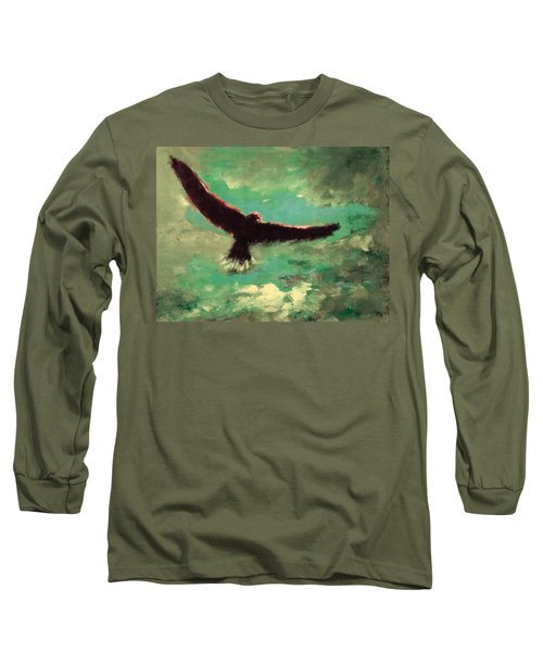 Green Sky Long Sleeve T-Shirt
