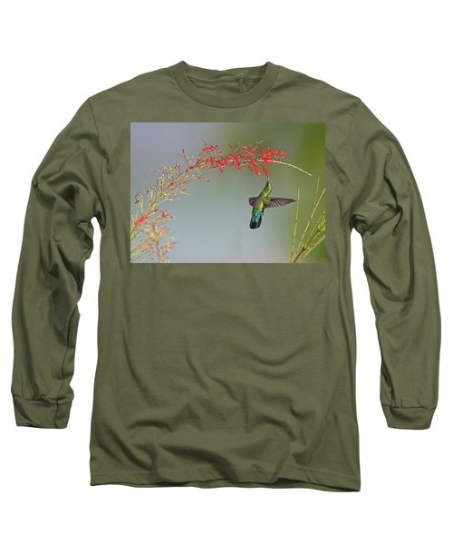 Green-throated Carib Long Sleeve T-Shirt