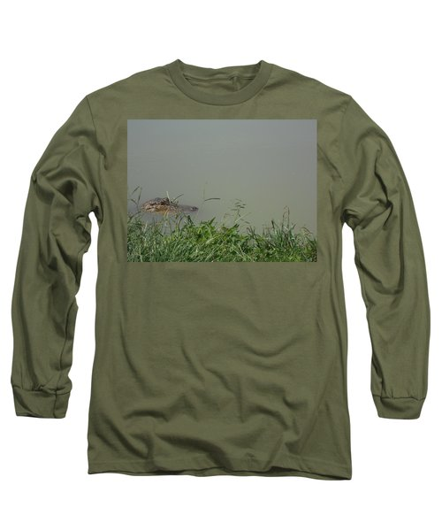 Greenwood Gator Farm Long Sleeve T-Shirt by Cynthia Powell