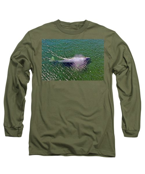 Grey Whale Long Sleeve T-Shirt