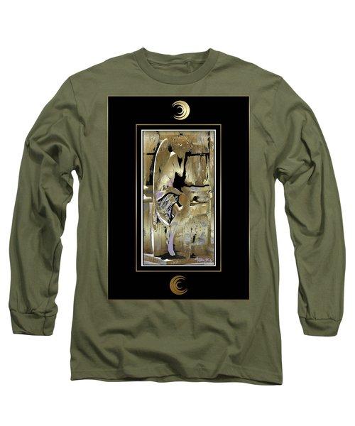 Grief Angel - Black Border Long Sleeve T-Shirt
