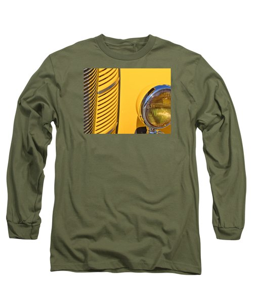 Grilled Chrome To Yellow Long Sleeve T-Shirt