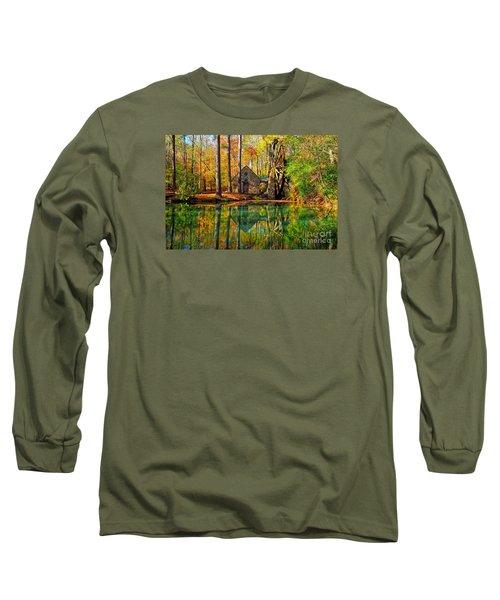 Grist Mill Long Sleeve T-Shirt by Geraldine DeBoer