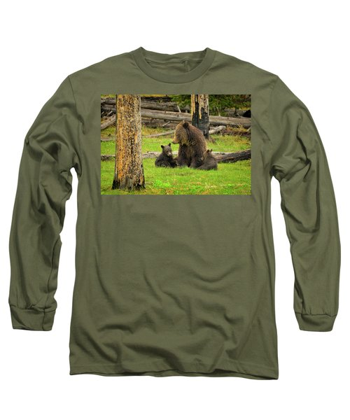 Grizzly Family Gathering Long Sleeve T-Shirt