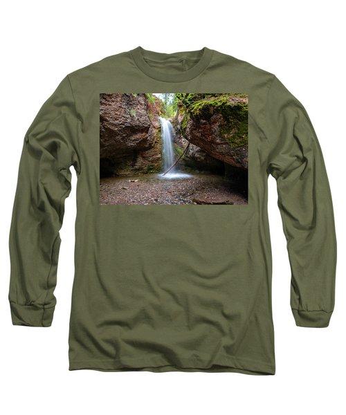Grotto Falls Long Sleeve T-Shirt