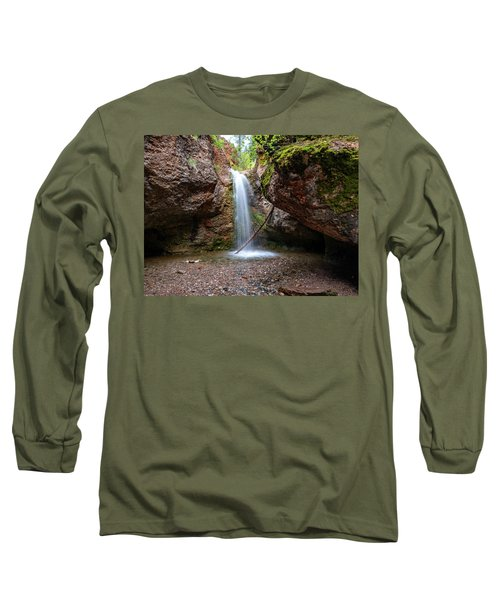 Grotto Falls Long Sleeve T-Shirt