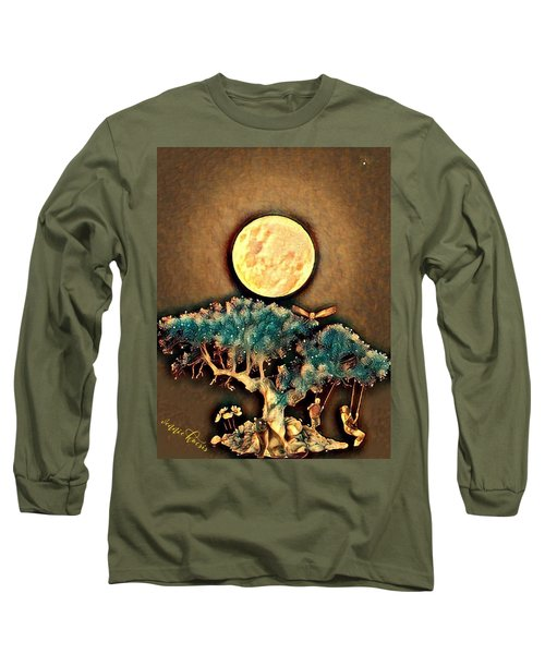 Grounding Long Sleeve T-Shirt by Vennie Kocsis